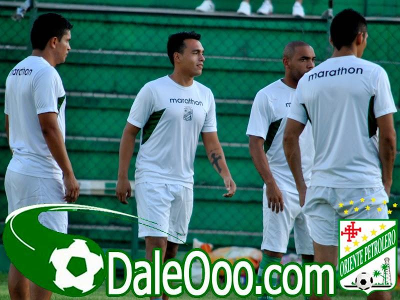 Oriente Petrolero - Jorge ortiz - Yasmani Duk - Thiago Dos Santos - Diego Rodríguez - DaleOoo.com página del Club Oriente Petrolero