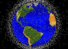 la basura en el espacio aumenta segun el reporte  de la Oficina del Programa de la NASA de Restos Orbitales