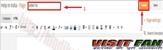 Page editer