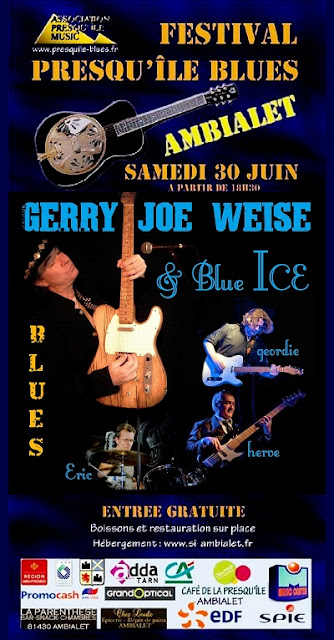 Festival Presqu'ile Blues, Gerry Joe Weise