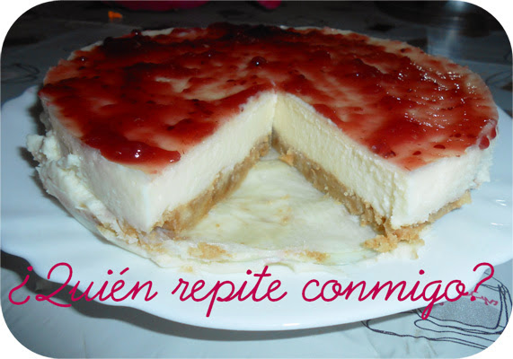 tarta de queso mascarpone fría