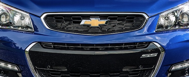 Chevrolet bow tie logo grille