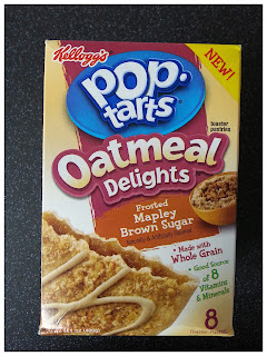 Pop-Tarts Oatmeal Delights Frosted Mapley Brown Sugar