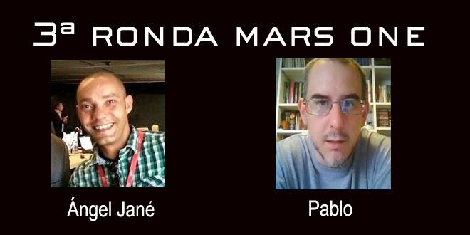 Ángel Jané y Pablo Mars One