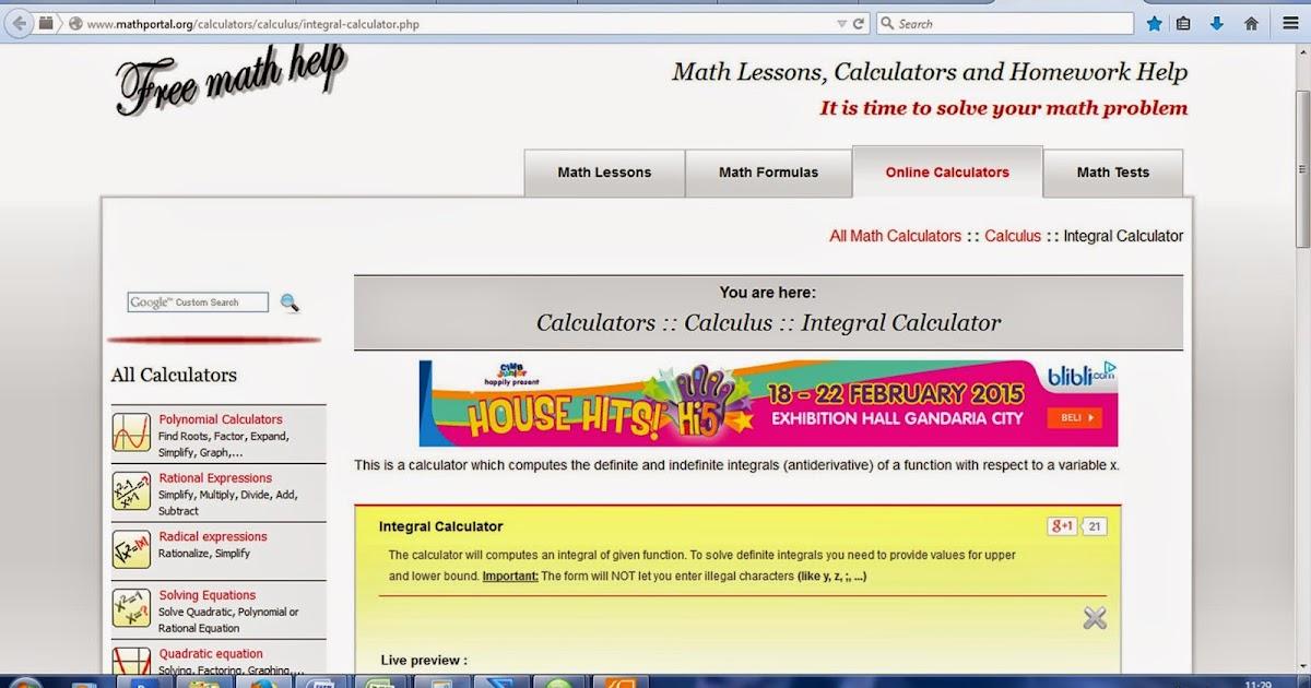 Imath Solution Kalkulator Matematika Online