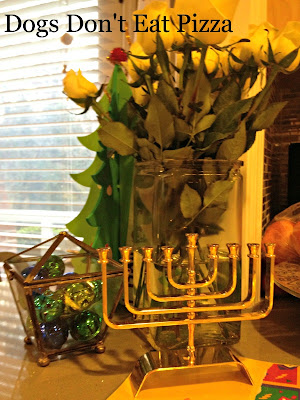 bells and menorah