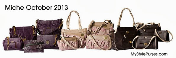 Miche October Collection 2013 - Hope Paisley, Dominique and Annistyn