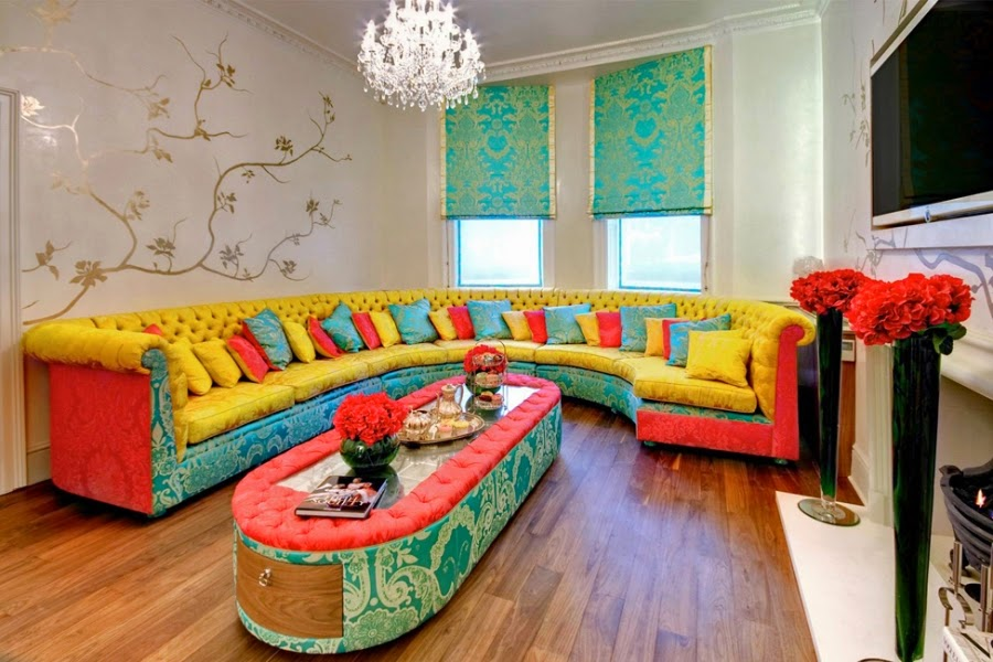 Colorful Apartment With An Impressive Design In London ~ GOODIY