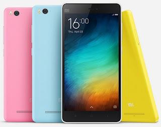 Xiaomi Mi 4i Android Phone 4G Harga Rp 2 Jutaan