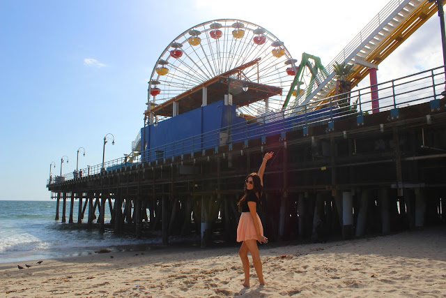 Blogger Mash Elle explored the Santa Monica Pier!