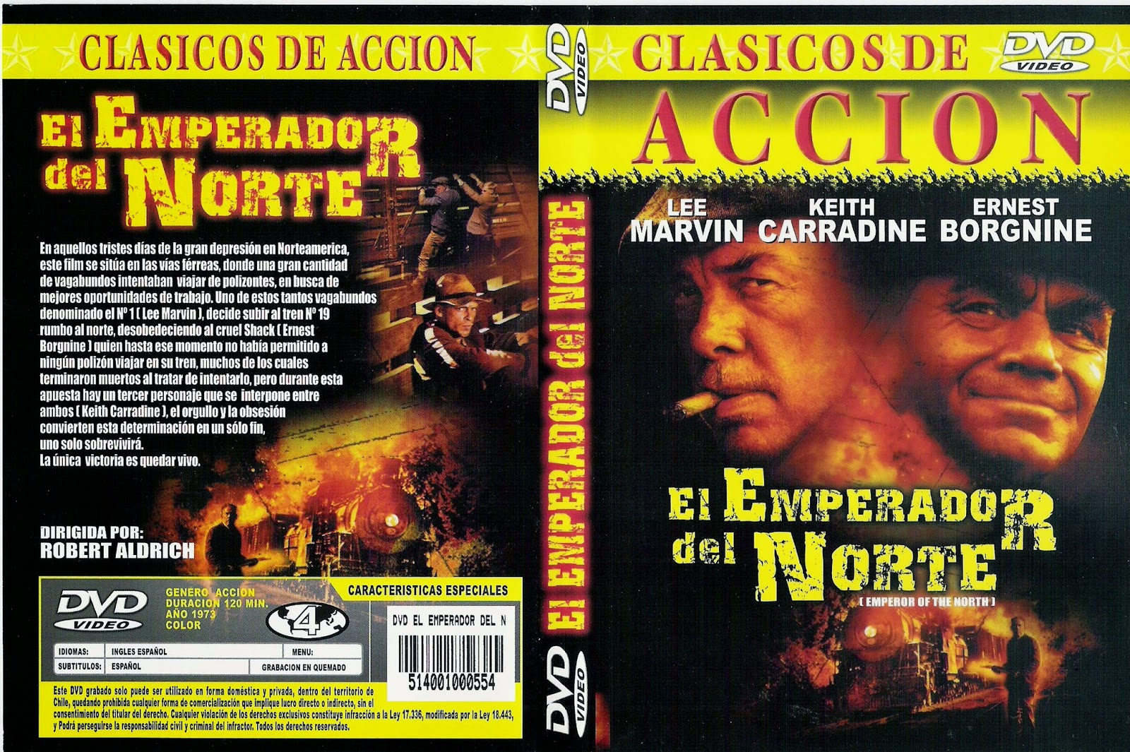 El emperador del norte (Emperor of the North Pole – 1973)