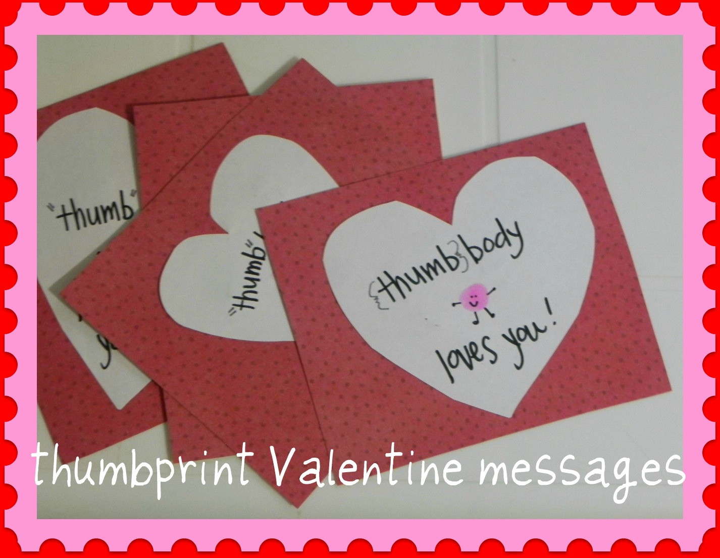 Last Minute Valentine Card Ideas  The Home Teacher
