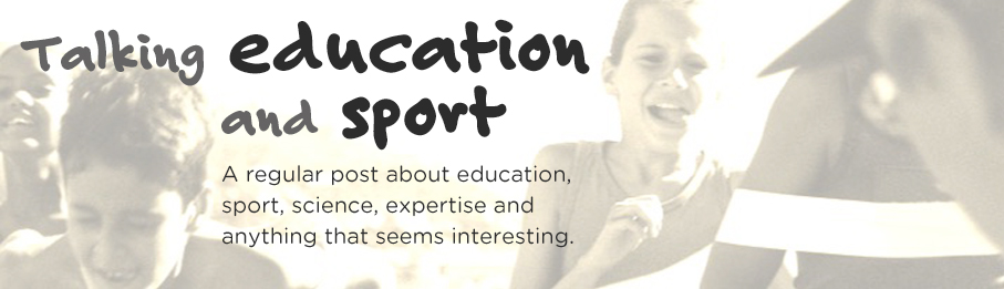 Talking Education and Sport