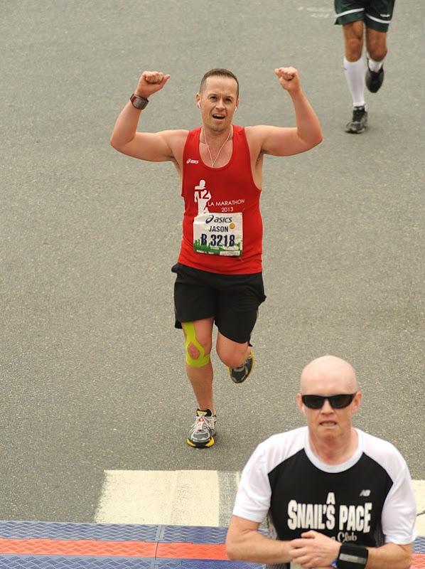 2013 LA Marathon runner