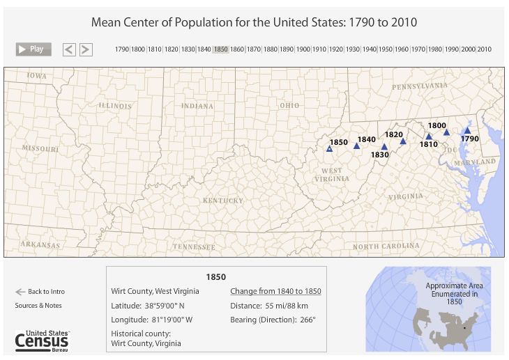 Free Technology for Teachers: Thematic Census Data Maps on