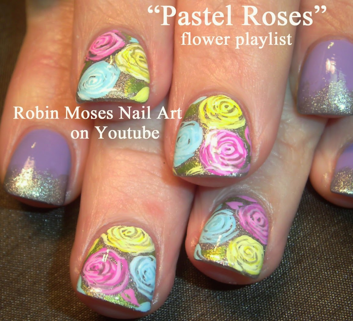 "2014 Nail Art Ideas For Prom: Robin Moses Nail Art: ""prom Nails"" ""nail Art"" ""prom Nail"