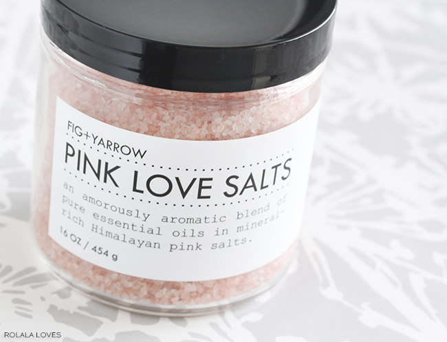 pink love salts
