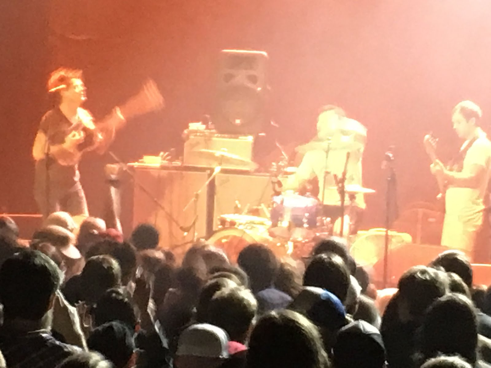 Went to see Thee Oh Sees last night at the sold out Revolution Hall.