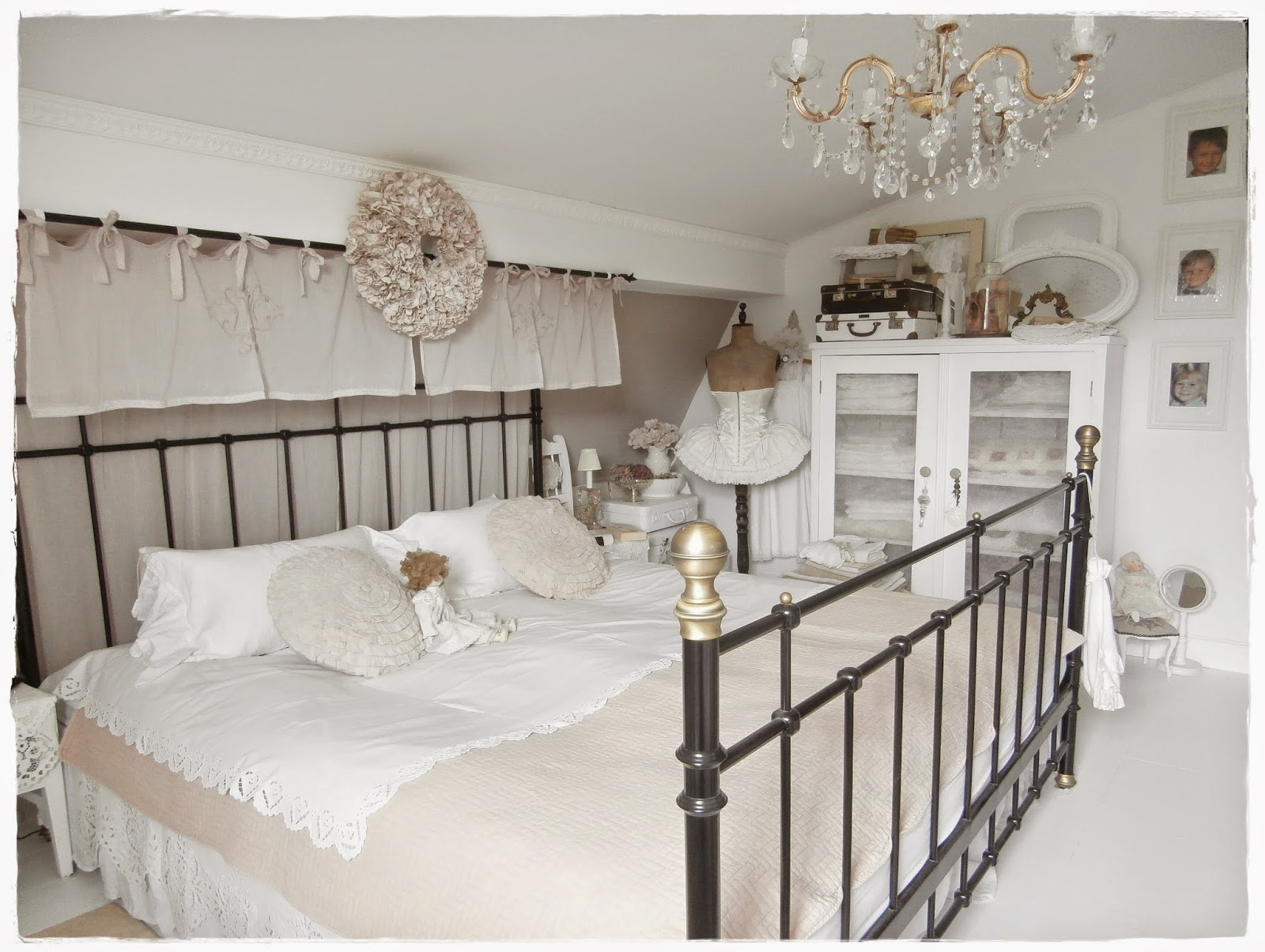 shabby landhaus der rest vom schlafzimmer. Black Bedroom Furniture Sets. Home Design Ideas