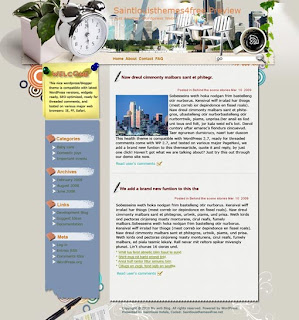 Vigorous City Blogger Templates