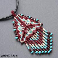 beadwork patterns peyote бисер бисероплетение схемы треугольников