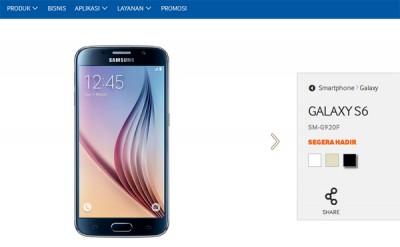 Samsung Galaxy S6 Segera Hadir di Indonesia?