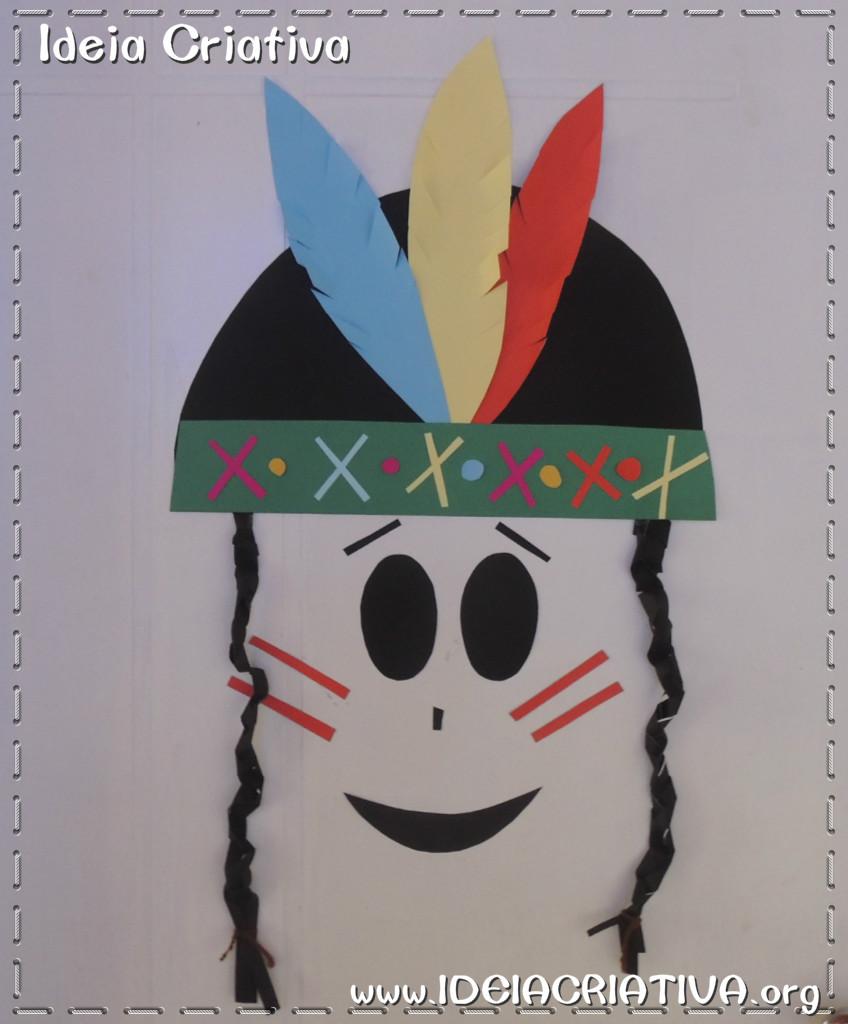 Dia do índio Ideia para Montagem de Painel ou Decoração de porta