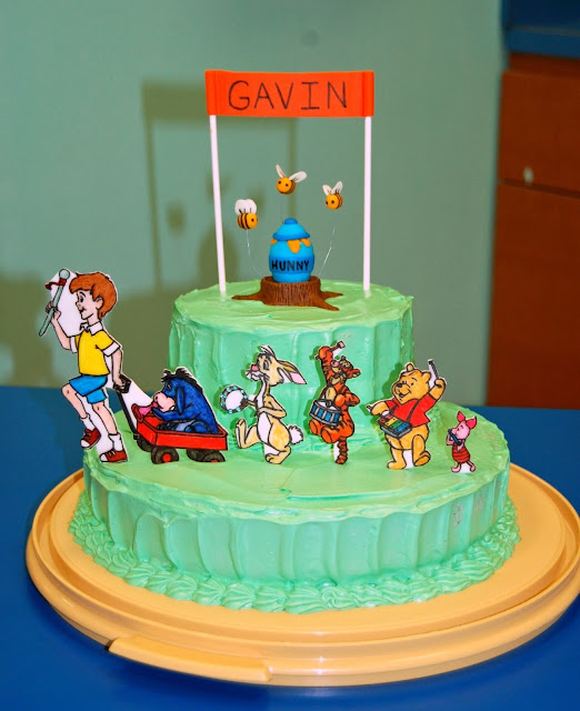 Winnie the Pooh Marching Band Cake 3