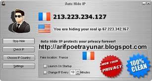 Download Auto Hide IP 5.2.5.2 Full Version + Crack