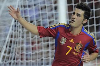 España se clasificó a la Eurocopa 2012