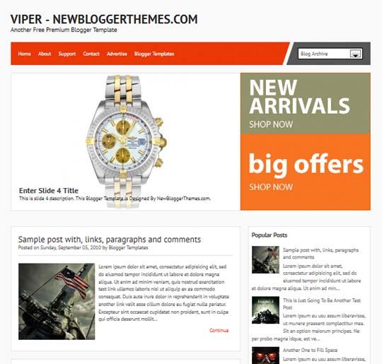 viper-premium-blogger-template-2013-free