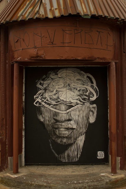 Street Art Collaboration By Axel Void And LNY On The Streets Of New York City, USA. 9