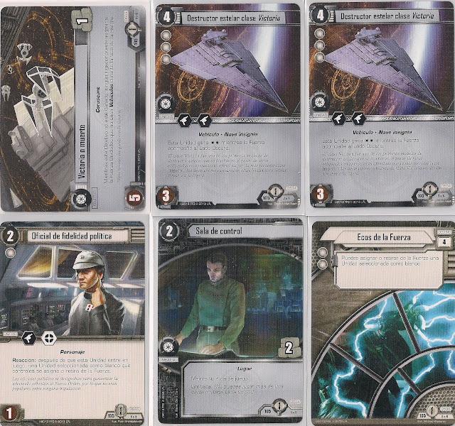 Expansión Star Wars LCG: Ciclo de Ecos de la Fuerza - La atracción del Lado Oscuro Victoria o muerte