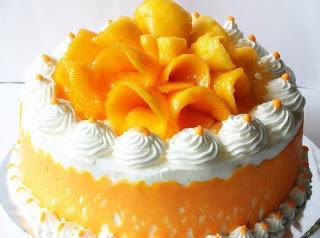 Healthy Mango Cake