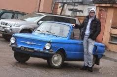 """Белорусский немец и его ЗАЗ-968А: """"На бездорожье эта машина едет как SUV!"""""""
