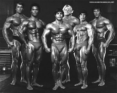 "GOLDEN ERA BODYBUILDING LEGENDS - ARNOLD SCHWARZENEGGER,  SERGE NUBRET, FRANCO COLUMBO. DAVE DRAPER. FRANK ZANE Read about RR's training and life experience, about other legends of Golden Era  of bodybuilding and what really happened behind the scenes of Weider's empire  - in RR's BOOK ""The BLACK PRINCE; My Life in Bodybuilding: Muscle vs. Hustle"" -  ▶ www.robbyrobinson.net/books.php"
