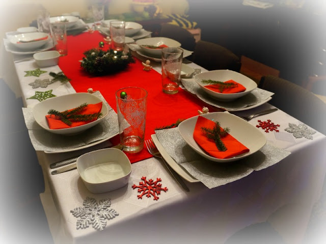 święta stół