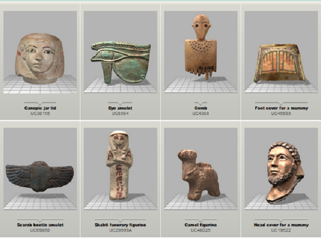 UCL Petrie Museum launches 3D Online Object Library