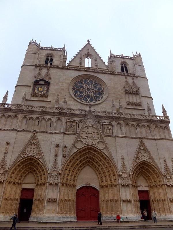 Lyon vieux cathédrale saint-jean