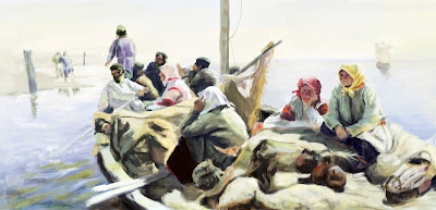 Arkhipov Along the River Oka Masters study