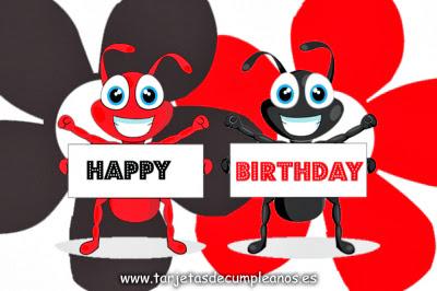 Happy Birthday hormigas