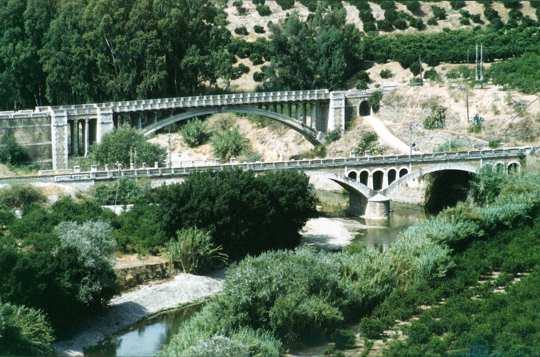 pizarra en el recuerdo puentes sobre el r o guadalhorce