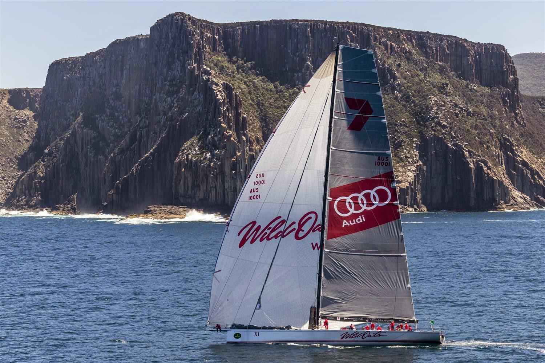 Wild Oats XI premier sur la Sydney - Hobart !