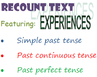 3 past tense pada recount text