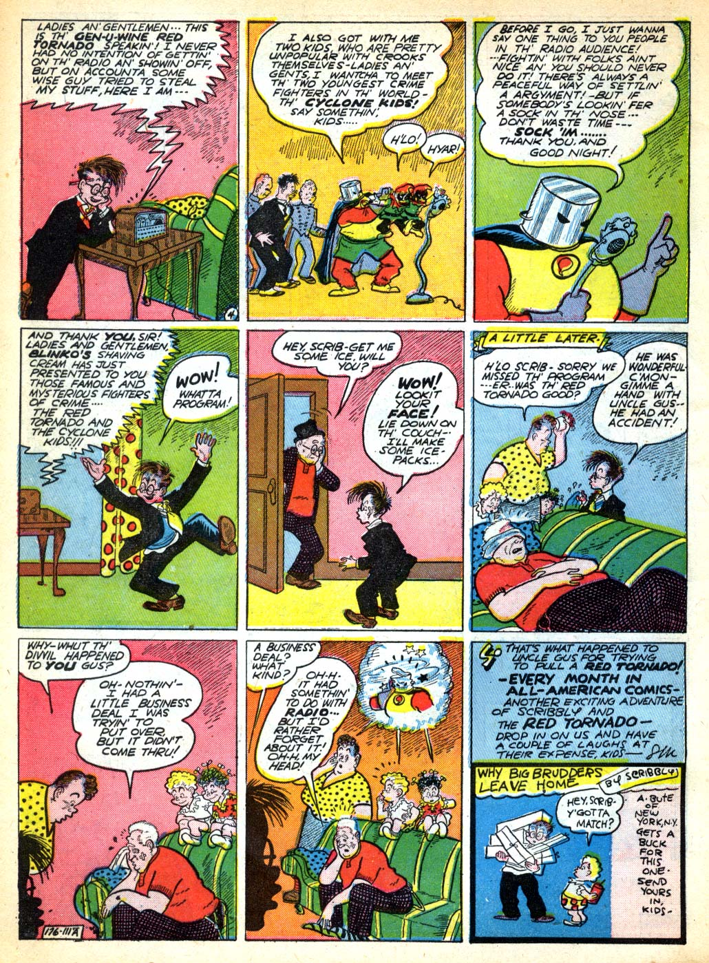 Read online All-American Comics (1939) comic -  Issue #28 - 16