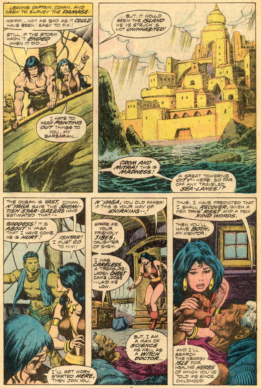 Conan the Barbarian (1970) Issue #70 #82 - English 5