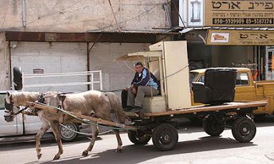 Israel é o primeiro país  a proibir transporte puxado por animais
