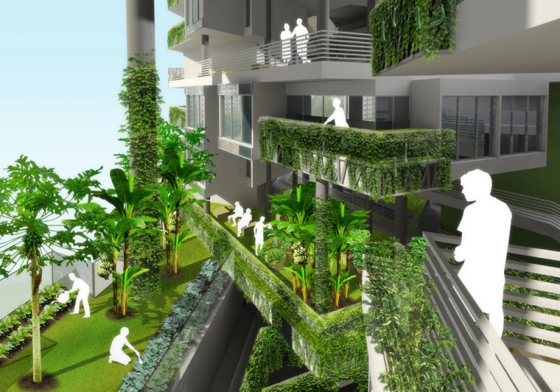 Tòa nhà chung cư R4 Singapore
