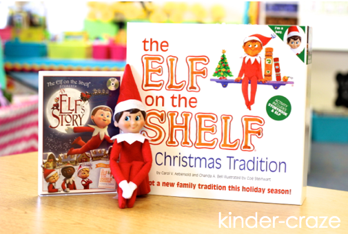 This teacher had great ideas for using an elf in her classroom!