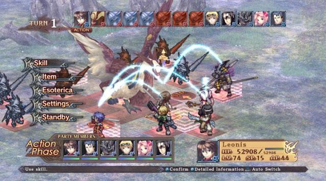 Record of Agarest War Permainan Game Untuk Android
